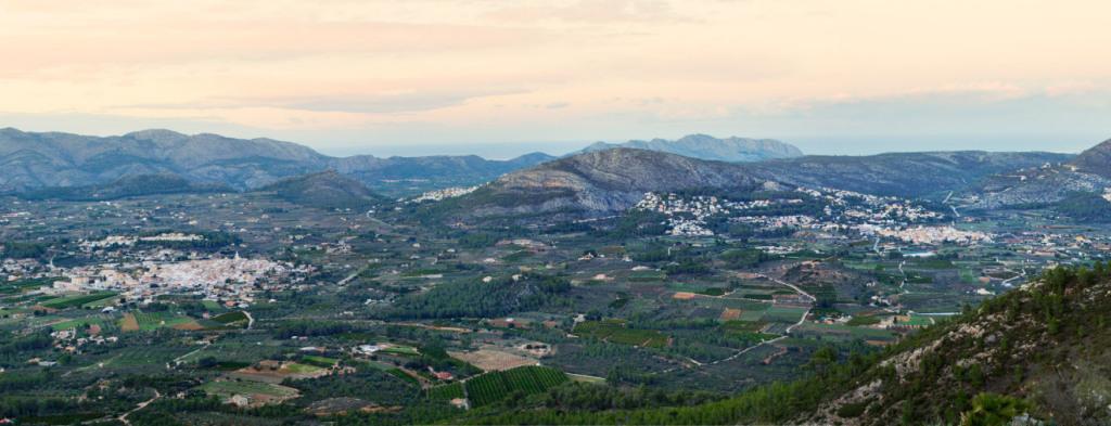 ruta Coll de Rates - Barranc Negre2 - Alcalalí turismo