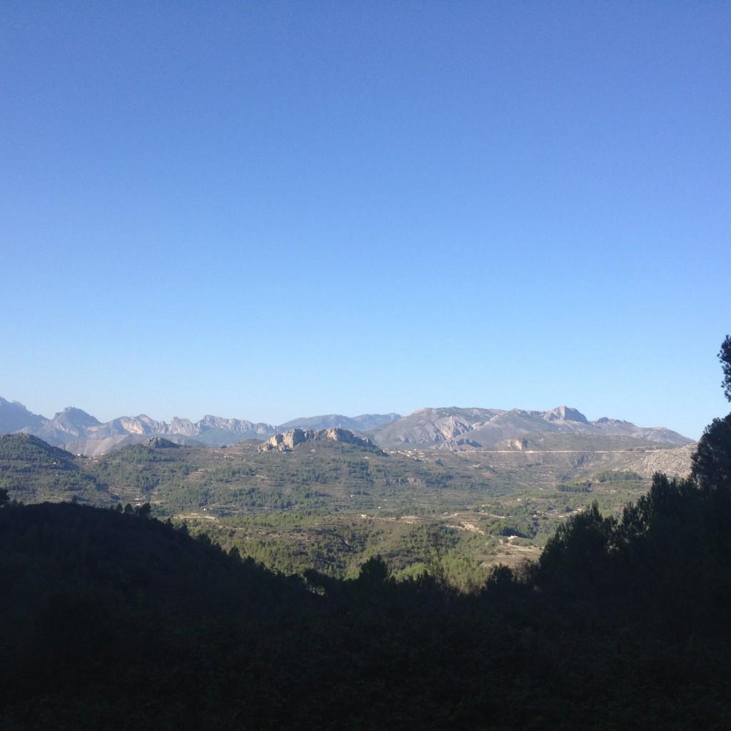 Ruta senderista Alcalali turismo