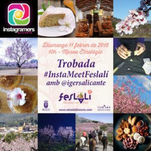 Cartel #InstaMeetFeslalí @igersalicante - Alcalalí turismo