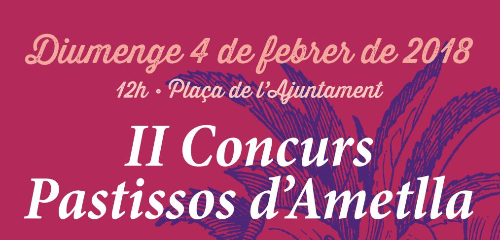 II Concurs de pastissos d'ametlla Feslalí. Alcalalí en flor 2018 - Alcalalí turismo