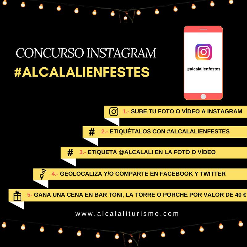 Concurso iIstagram #alcalalienfestes