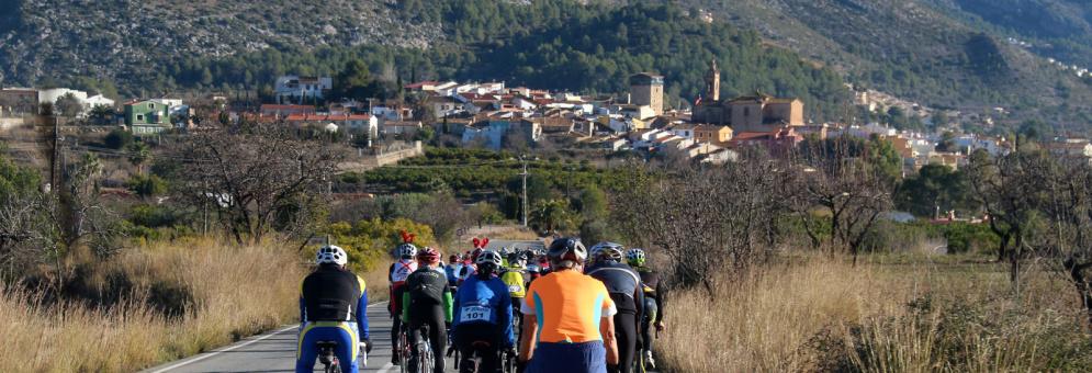 Ciclismo por el Vall del Pop