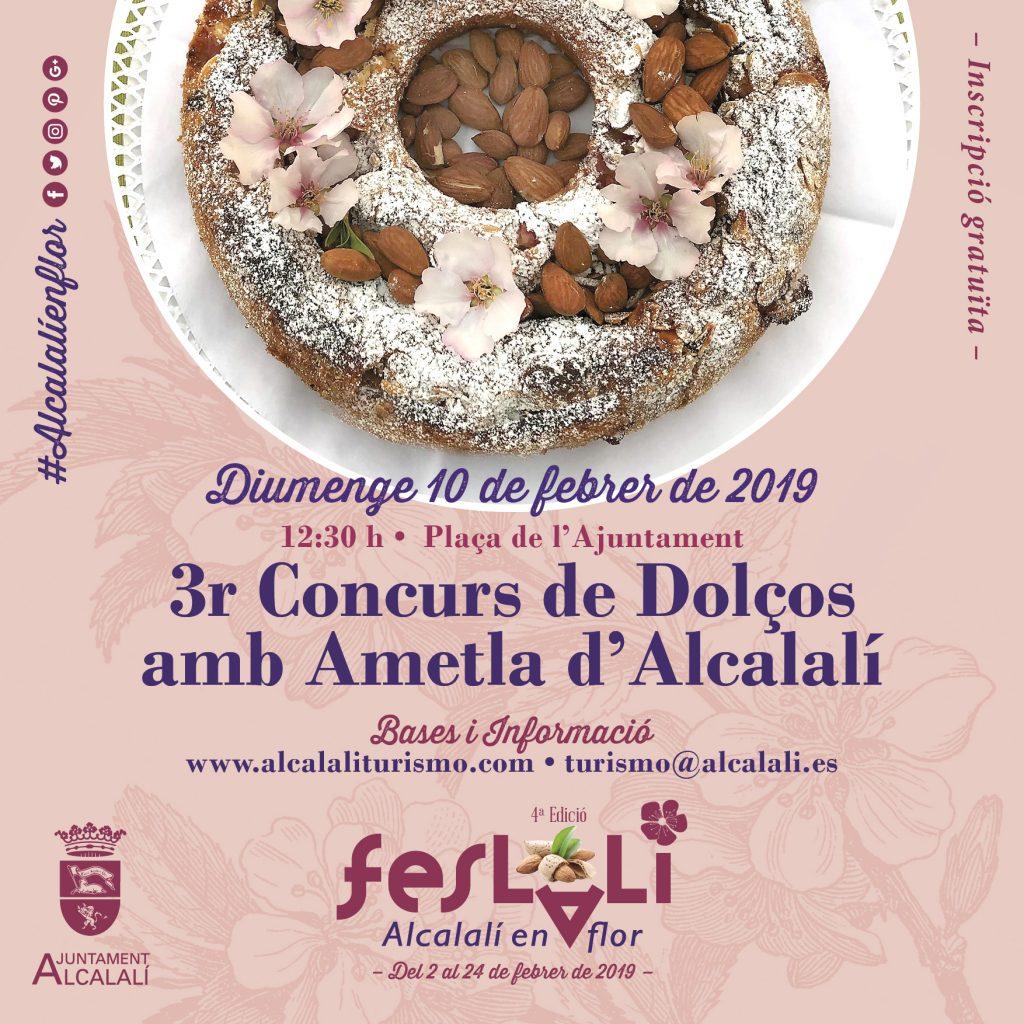 Concurs Dolços Ametla FESLALÍ 2019