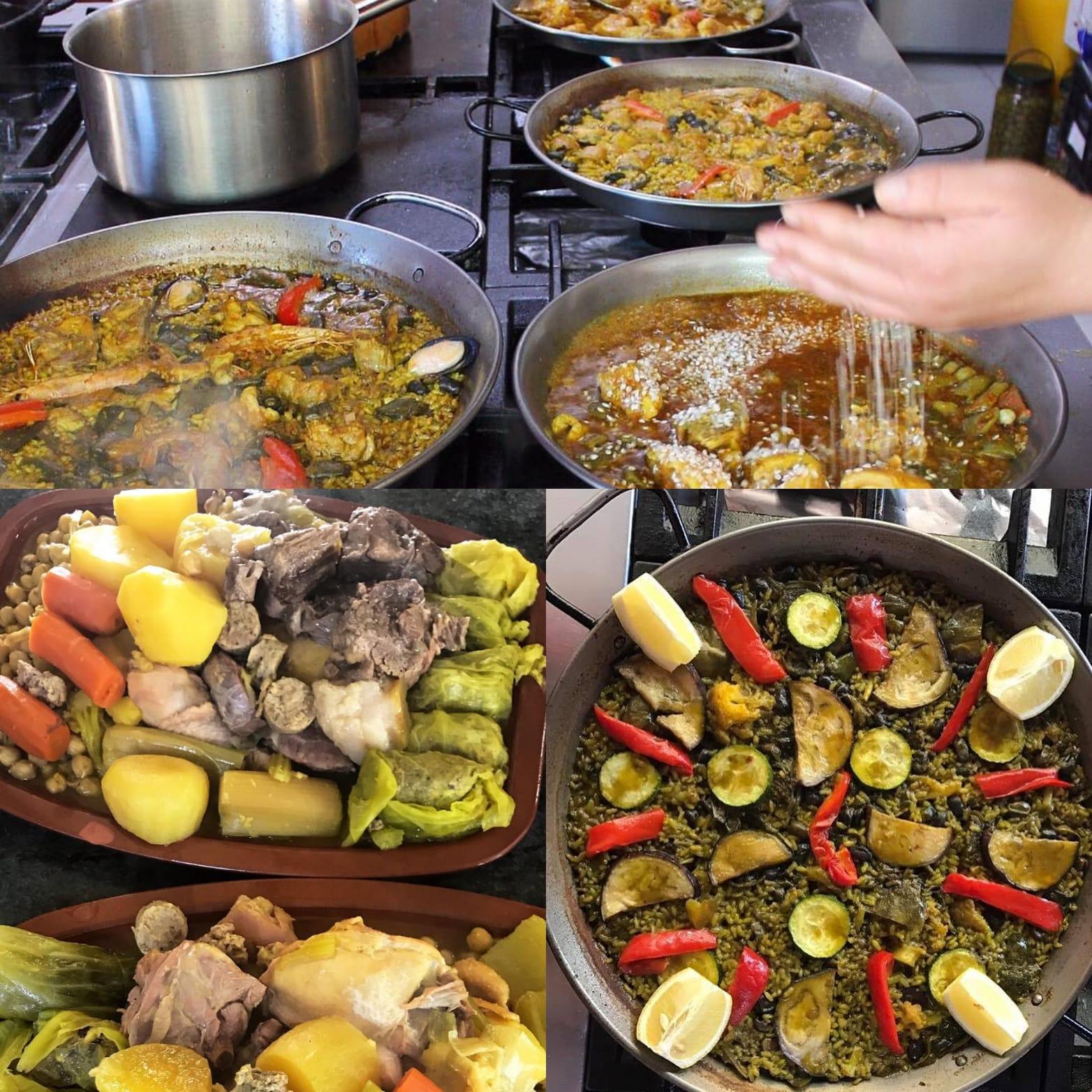 La paella, el puchero y cous cous de Alcalalí