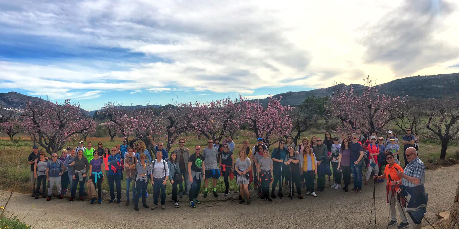 Rutas senderistas – Feslalí Alcalalí en flor