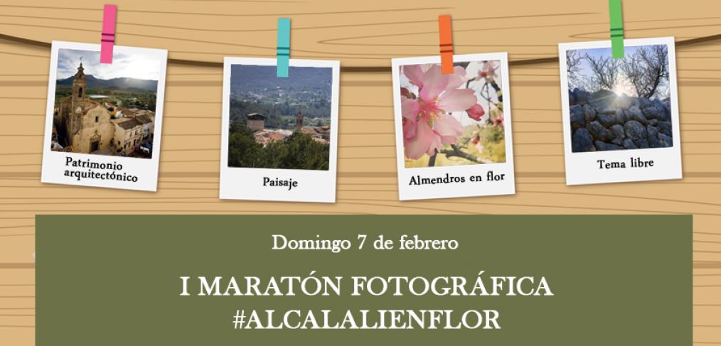 I Maratón Fotográfica #alcalalienflor - Alcalalí turismo