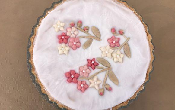Tarta Bakewell de almendra
