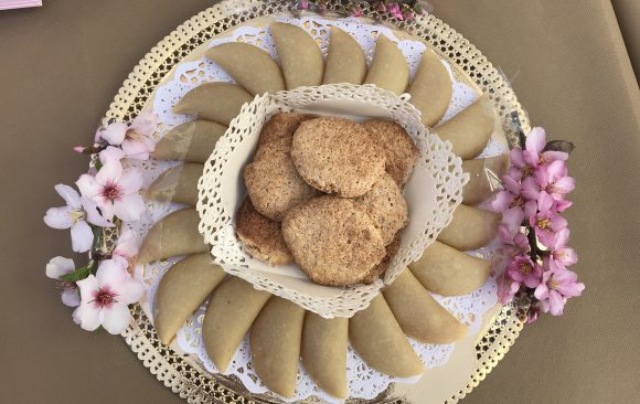 Pastelitos de almendra y boniato